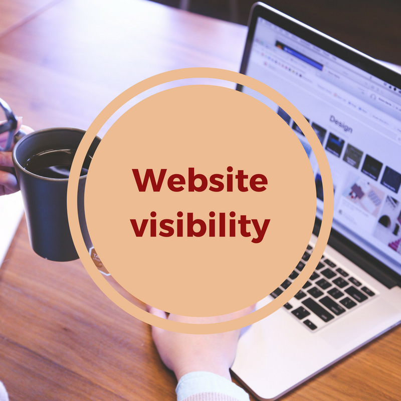website visibility with SEO