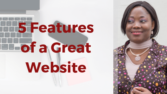 Great website for business coaches and consultants